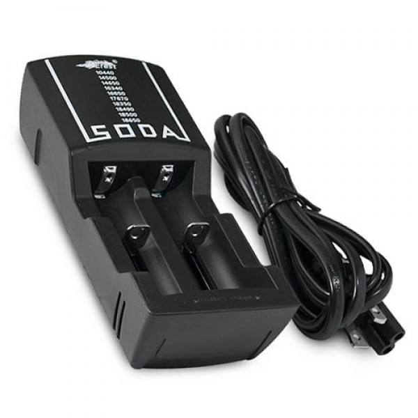 Efest SODA dual battery charger
